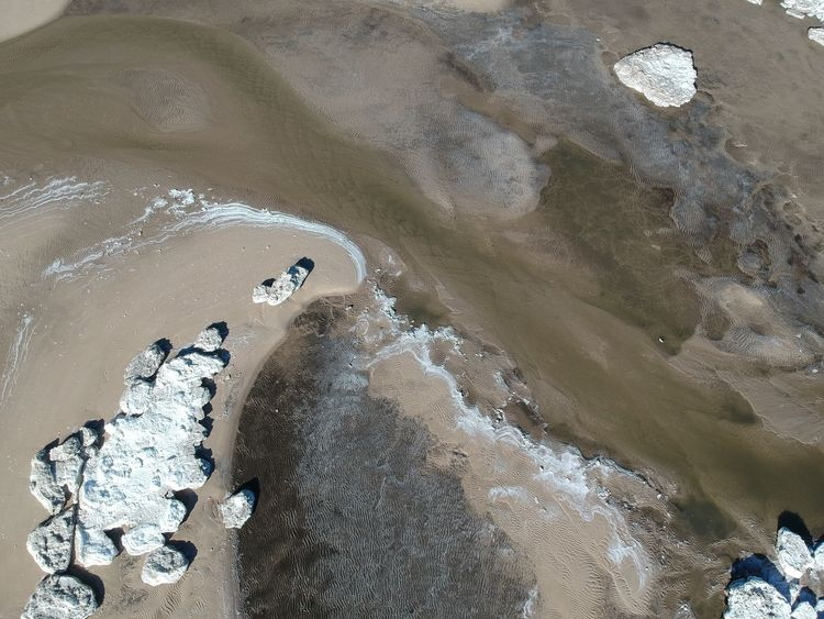Aerial views of the beach at Fortescue NJ. Pack ice made for some interesting patterns. Very cold day. with just a bit of wind and used DJI Spark. Drone  EyeEm Best Edits EyeEm Best Shots EyeEm Nature Lover EyeEm Selects Natural Pattern New Jersey Wintertime Beach Cold Temperature Day Dji Dji Spark Dronephotography Garden State Geometric Shape Nature New Jersey Photography Nj Njphotographer No People Pack Ice Repeating Patterns Waves Wind And Waves