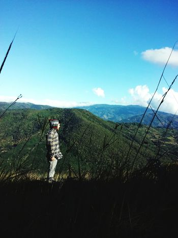 Feeling so good... Mountains Mountain Sky Sky And Mountains Grass Grassland Self Picture Alone Peace Cold Wind Cold Clouds And Sky Clouds Landscape Enjoying Life Mothernature Nature Green Green Green!  Thinking Relaxing Beatiful Beatifulday Tarrazu . Costa Rica The Wanderer
