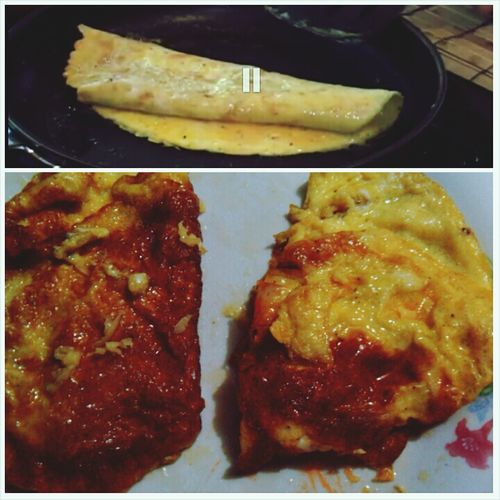 first photo: this is how it's supposed to look. second one: result. but dont be judgin', it tastes awesome, swear. :D Terrible Cook Wey Hey To Me
