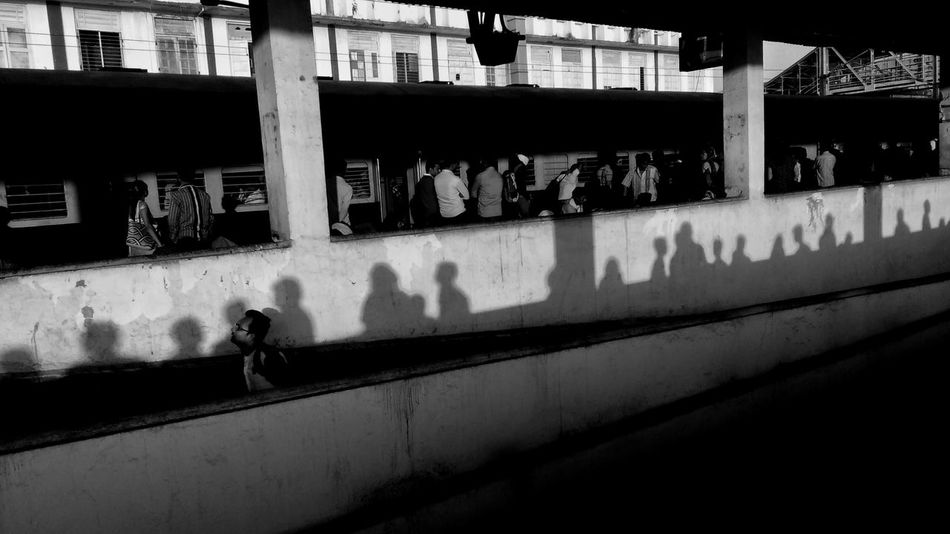 EyeEm Gallery Real People People India Indiapictures EyeEm Masterclass Mobile Photography EyeEm Best Shots - Black + White EyeEmbestshots EyeEmBestPics Black And White Photography Black & White Mobile Photography Project Shadows & Light Shapes And Patterns  Shapes , Lines , Forms & Composition Shadows On The Wall Shadows & Lights Streetdreamsmag Streetlifestyle Streetlife Streetshot Streetphotographyindia Incredible India Indianstories Mobile Streetphotography