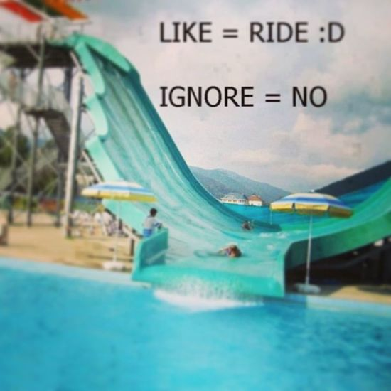 Like-ride ignore-no!:D Likit Like Waterslide Fun Water Lovetogoonit Like Follow Much