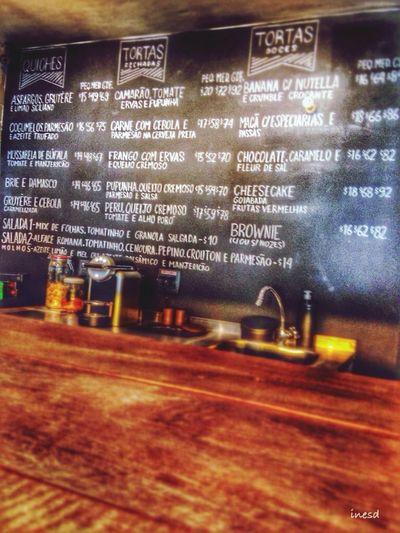 EyeEm Best Shots Restaurant Lunch Time! The Menu Make a choice !