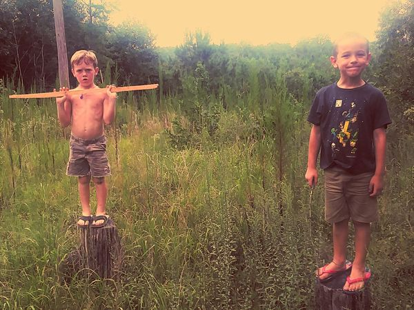 Boys Child Childhood Children Only Brother Male Friendship Friendship Outdoors Fun Happiness Only Boys Standing Outdoors Photograpghy