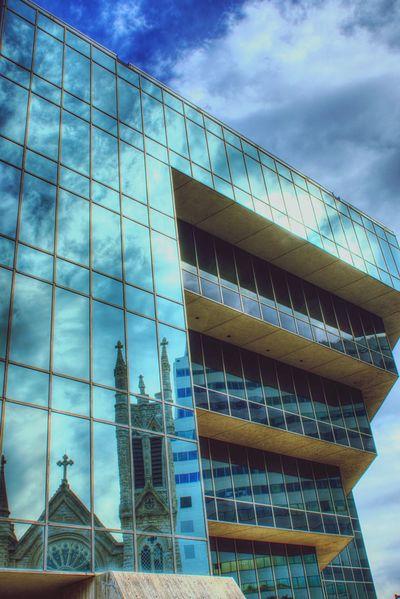 The Architect - 2016 EyeEm Awards Urban Geometry Urbanphotography Church EyeEmGalley Austin Texas Reflections