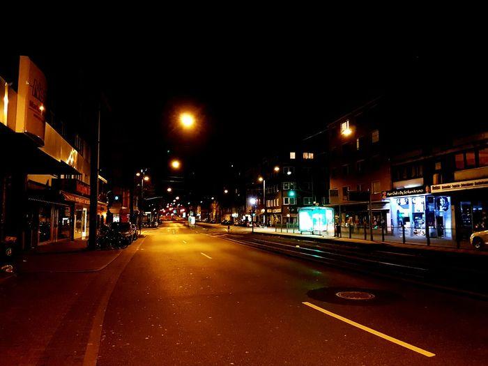 Düsseldorf Derendorf Nacht