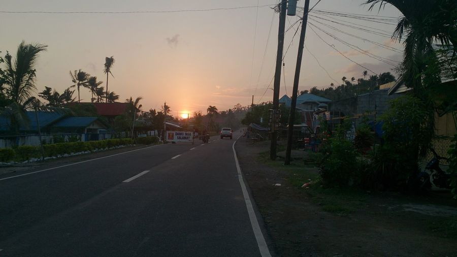 Architecture Day No People Outdoors Road Sky Street Sunset The Way Forward Tree Eyeem Philippines