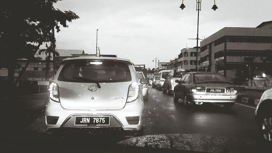 Traffic Jam Outdoors Morning View Kluang EyeEmNewHere City Street Car SlowDown Busy Life
