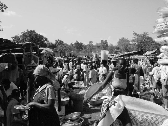 A day at the market in Haiti. DeLeonStrong