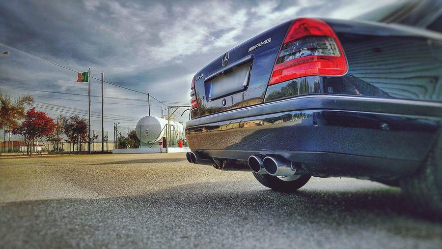 Mercedes Cloud - Sky AMG W202 Clean Car