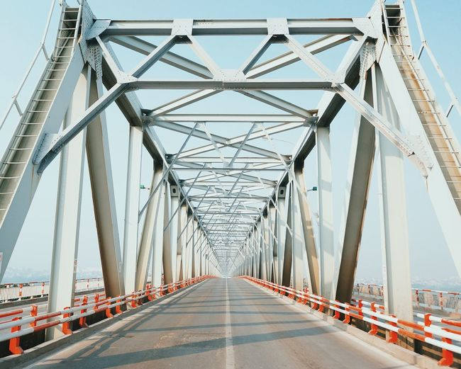 Hometown Bridge Bridge - Man Made Structure Engineering Transportation Connection The Way Forward Metal Built Structure Road Architecture Outdoors Clear Sky Sky No People Day