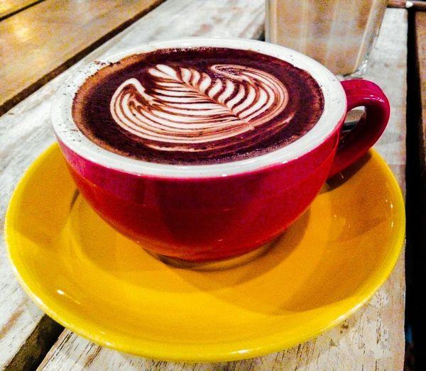 One of the best Cafés... Having Mocha ; Cafe Mocha... Coffee Latte Art Tulips by Bruno90 Podgyandthebanker Espresso Drinks