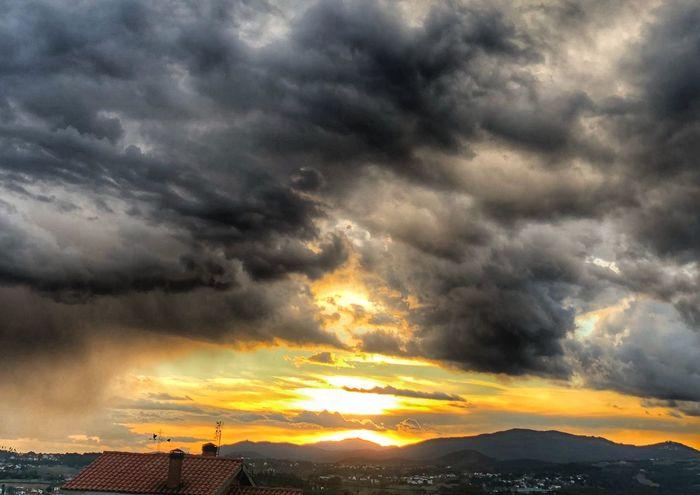 Dramatic Sky Cloud - Sky Sunset Weather Storm Cloud Atmospheric Mood Sky