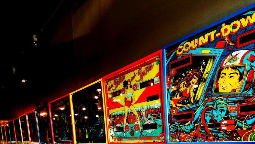 Illuminated Multi Colored No People Night Amusement Park Close-up Pinball Perspective EyeEmNewHere