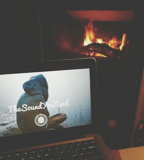 Thesoundyouneed Music Fire Hanging Out