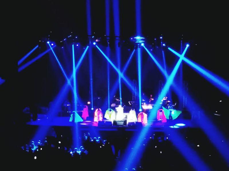 Atifaslam SonuNigam Concert Lights Bluelights Spotlights Music Danceperformance Stage