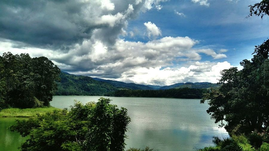 Relaxing First Eyeem Photo Costa Rica Lake Lake View Naturelovers Nature Cloudy Clouds And Sky Cartago