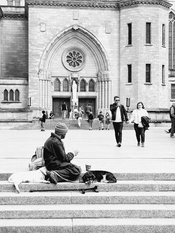 Differences. Religion Arch History Spirituality Real People Day Politics And Government Luxembourg Streetphotography
