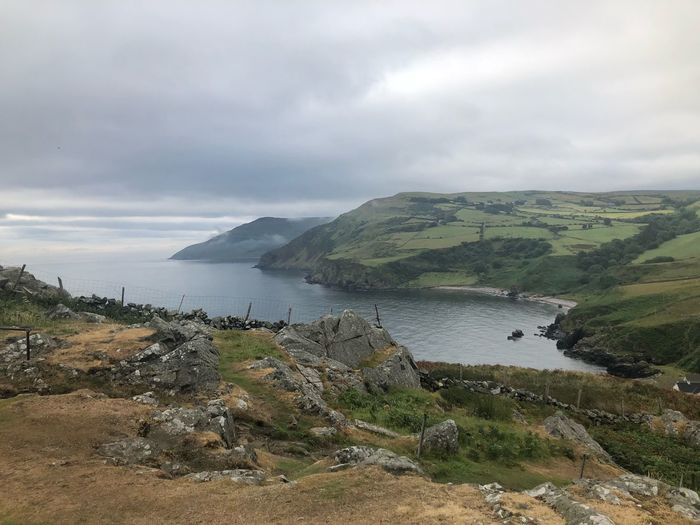 Torr Head Ireland Coast Antrim Antrim Coast Torr Head Ireland🍀 Sky Cloud - Sky Water Scenics - Nature Beauty In Nature Tranquility Tranquil Scene No People Sea Land Nature Day Non-urban Scene Idyllic Outdoors