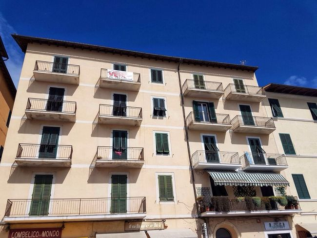 Italy🇮🇹 Architecture Windows Built Structure Building Exterior Clear Sky Blue Balcony City City Life Apartment Sky Day