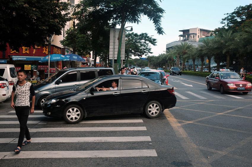 2016 EyeEm Awards Here Belongs To Me People China City Life City Street Vehicle Transportation Qingdao China Fujifilm X100T Car Car Car South China Shenzen City Lifestyles Cityscapes Fine Art Photography On The Way