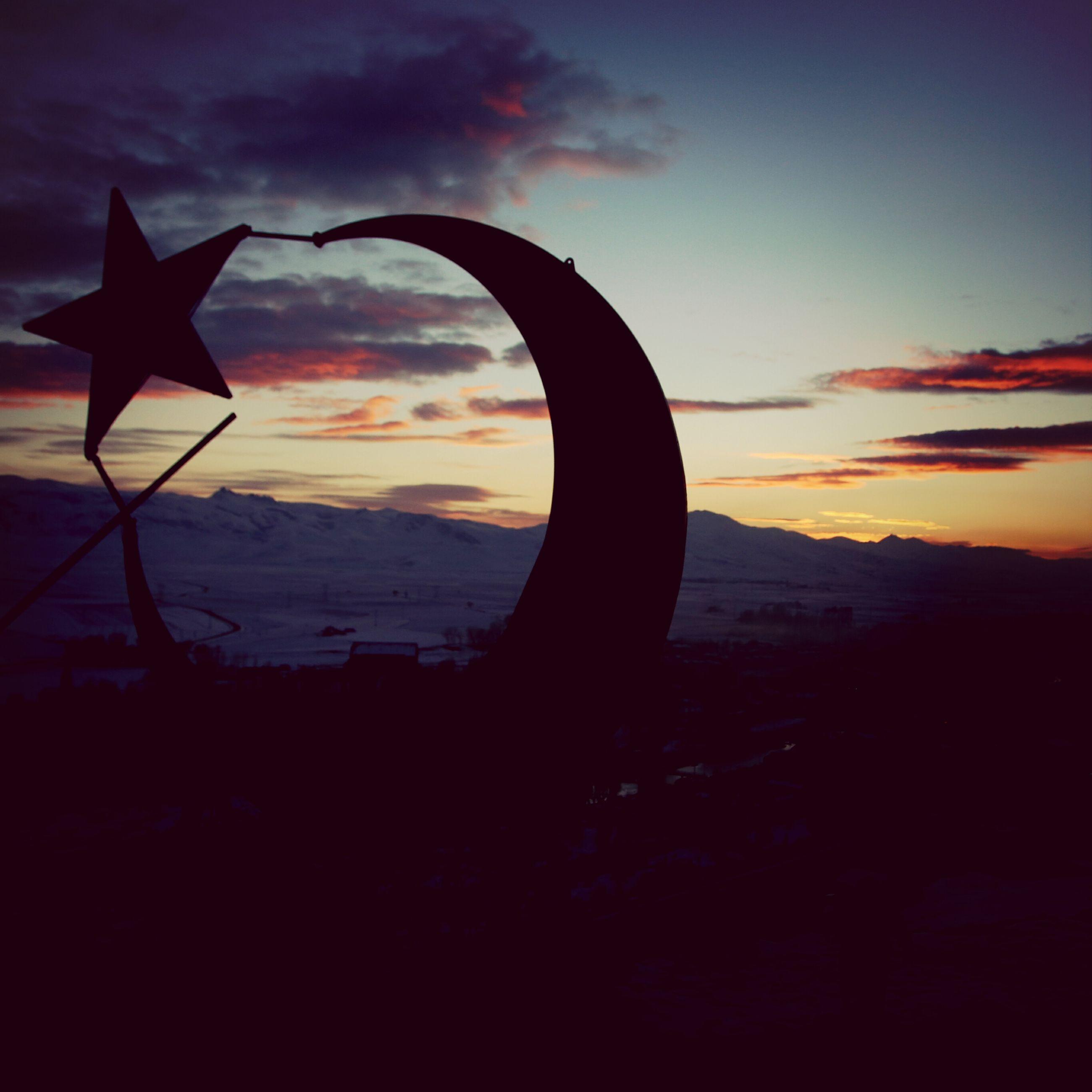 sunset, sky, silhouette, cloud - sky, tranquility, tranquil scene, scenics, cloud, beauty in nature, orange color, beach, nature, landscape, idyllic, dusk, outdoors, sea, cloudy, dramatic sky, shore