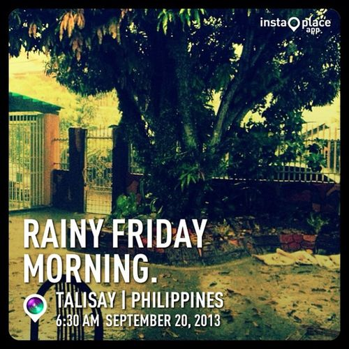 Cuddleweather InstaPlace Earth World life cool art style look follow happy igers awesome philippines PH talisay day