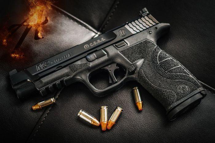Firearms Gunporn Firearmphotography SmithAndWesson M&p Core Stippled First Eyeem Photo
