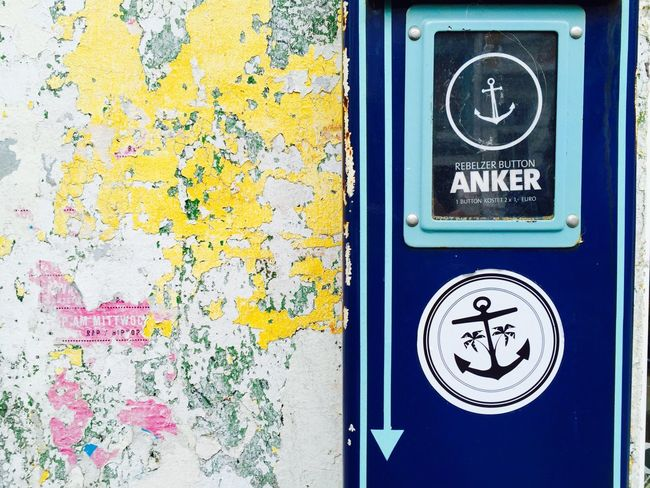 In your life you always need an anchor ⚓️🚢 Thank you for all the anchors I have!! Anchor The Street Photographer - 2016 EyeEm Awards Hamburg Streetart Hamburg Street Photography Streetphotography Streetart/graffiti Automat Machine Buy Me That's What Friends Are For... Wall Wall Art Old Paint Old Painted Wall