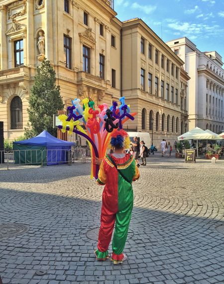 Bucharest IPhoneography Clown