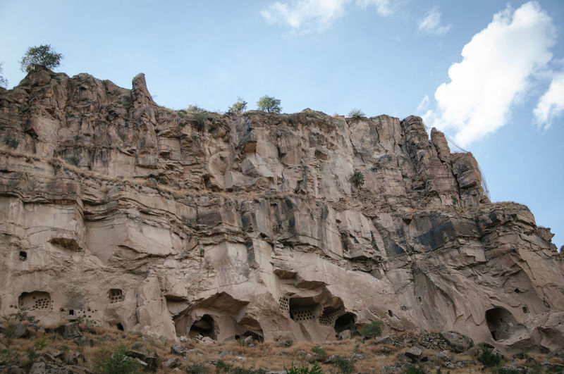 Ancient Beauty In Nature Cappadocia Cave Day İhlara Valley Landscape Morning Nature No People Outdoors Rock - Object Rock City Ruins Sky Surreal Landscapes Temple Turkey