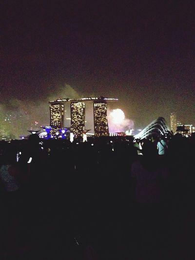 HAPPY NEW YEAR! Happynewyear2014 Taking Photos Marinabaysg
