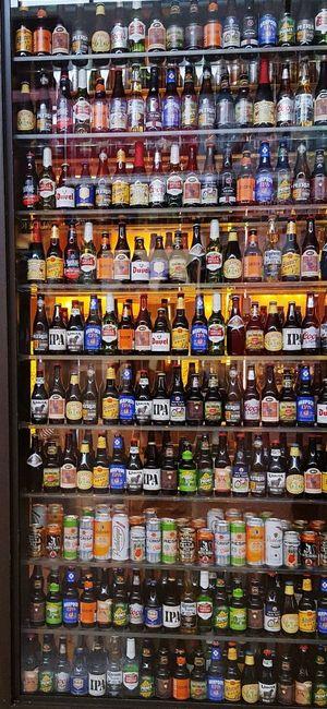 Abundance Shelf Large Group Of Objects Bottle Bottles Collection Beer Bottle Beers Beergasm Beergeek Beer Beer Time