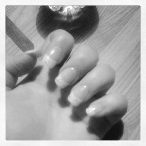 Justdone Sparkles French Frenchtips
