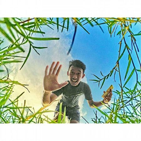 Hay ? dapat salam dari rumput yang bergoyang 🌿 Xiaomiyi Xiaomiyi_id Xiaomiyicamera Yicam Hay HDR
