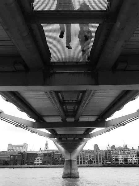 Under the bridge Shades Of Grey Urban Landscape London Calling Architecture Eye4black&white  Monochrome Seeing The Sights My Best Photo 2015 London Lifestyle EyeEm LOST IN London Postcode Postcards