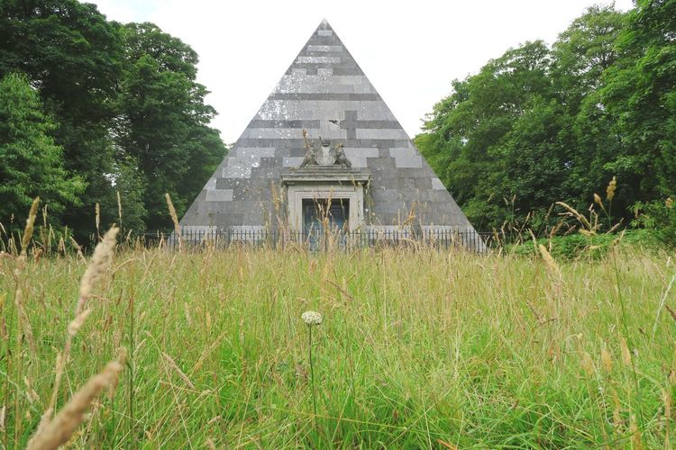 Norfolk BlicklingHall Blickling Estate Blickling Hall National Trust Tree Ancient Civilization History Pyramid Sky Architecture Grass Building Exterior Built Structure Green Color Old Ruin Religion Temple - Building