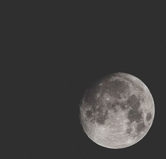 Moon Night Astronomy Planetary Moon Moon Surface Space Exploration Low Angle View Beauty In Nature No People Tranquility Nature Scenics Sky Half Moon Space Outdoors Clear Sky Close-up Satellite View