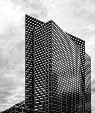 Glass High Rise Office Building Architecture Black And White Building Exterior Glass Architecture High Rise Architecture Office Building Exterior Reflective Architecture