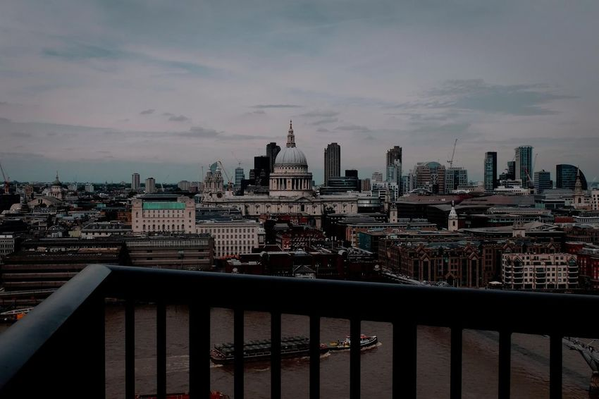 View over the city from Tate Modern Architecture Building Exterior Built Structure Capital Cities  City City Life City Scape Building Tower Big Dark Moody Sky Skies Clouds Monolithic London City Urban Landscape Oppressive View Photogrphy Photographer Photos Taking Photos Fotos Foto Photo Documentary Reportage Taking Photos Image Film Digital Image Images Cityscape Cloud Cloud - Sky Day Documentary Nature Photography Photography Taking Photos A Modern No People Reportage Street Photos Taking Fotos Images Photographic Camera Lens Architectural Design Building Structual Support Detail Of Tower Block In Sunshine Blue Sk Residential Building Residential District Sky Tall - High Tourism Travel Destinations Urban City Landscape Woman Girl Female Walk Walker Walking Strol Thames Embankment Birdseye View Trees Water London City Documentary Reportage Photography Street Photos Film Digital Images Black And White Monochrome