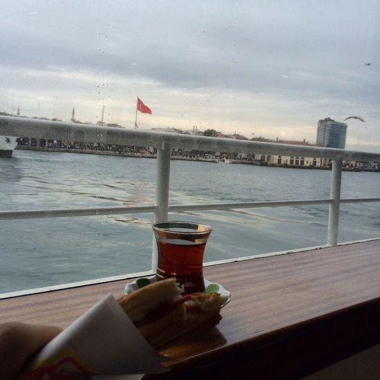 Turkey Istanbul Tea Ferry