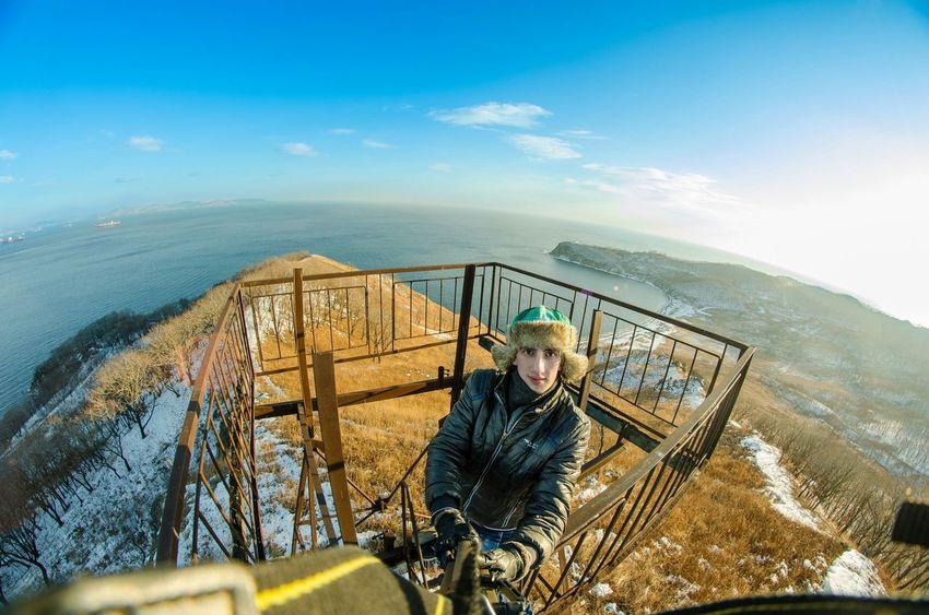 That's Me Portrait Selfie Self Portrait Eyem Best Shots Nature Landscape Sky Collection Hello World Horison