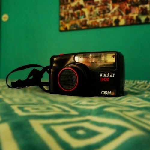 Camera : Let's shoot someone ;p Oldcamera Tryingoutnewmodes