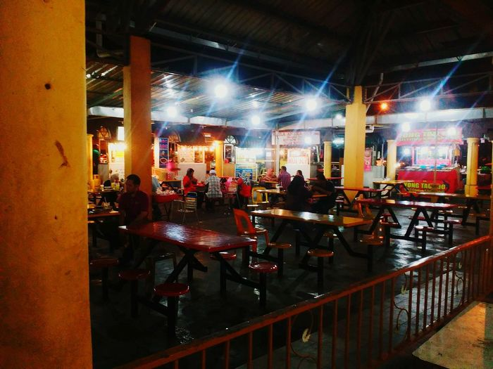 Restaurant Food Market Nightphotography