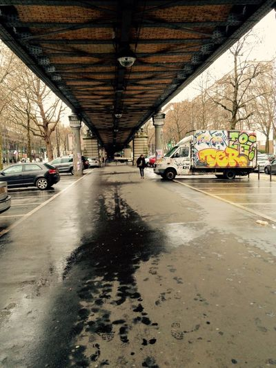 SouslespontsdeParis Streetphotography IPhoneography Hiver Un Pont Paris