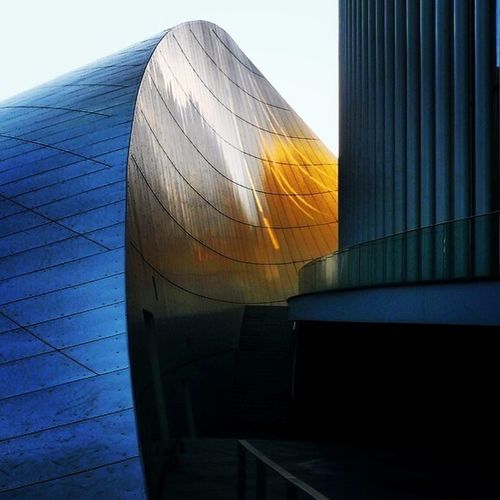 Urban Geometry Discover Luxembourg Philharmonie Reflection