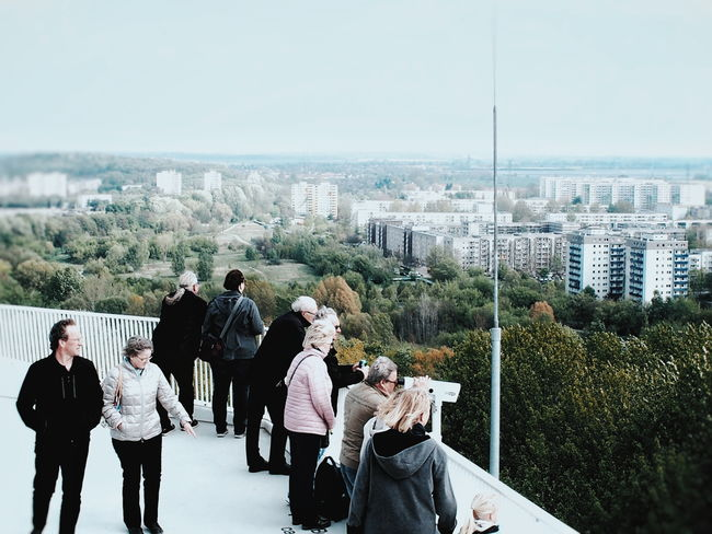 Watching the Skyline of Marzahn ... Day Adult Outdoors People Cityscape Sky Streetphoto_color Streetphoto Streetphotography Architecture Plattenbau Plattenbauromantik White The Great Outdoors - 2017 EyeEm Awards The Street Photographer - 2017 EyeEm Awards The Architect - 2017 EyeEm Awards Berlin Love Discover Berlin Second Acts Go Higher This Is Aging The Street Photographer - 2018 EyeEm Awards