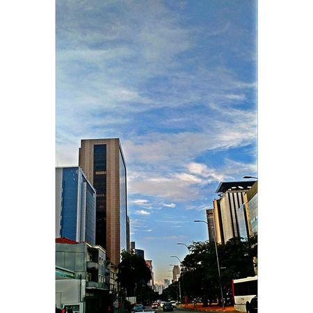 Saopaulo Brazil Avenue FariaLima Morning