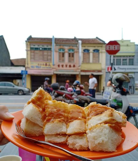 the local favourite Butter Kaya (Hutton) at Penang, Malaysia. it s very tasty and sweet that my sister ordered another set (Oct,2018) My Best Travel Photo City Incidental People Close-up Architecture Building Exterior Sweet Food Sky Food And Drink A New Beginning