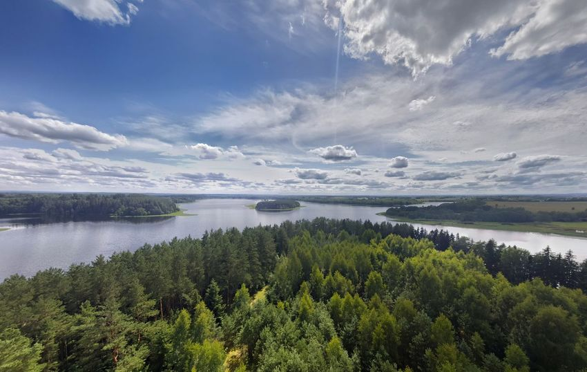 108 Feet Above Lithuania Landscape Nature Cloud - Sky Beauty In Nature Scenics Outdoors Horizon Over Water Tranquility Day No People Water Sky Beauty Lithuania Sartai Lithuanian Nature Lithuanian Countryside Lake Lake View Birds Eye View Serenity Summer Lithuaniansummer Summertime Beauty In Nature
