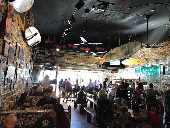 Hodad's Ocean Beach -SAN DIEGO Vacations Hodads Sandiego California Ocean Beach Hamburger